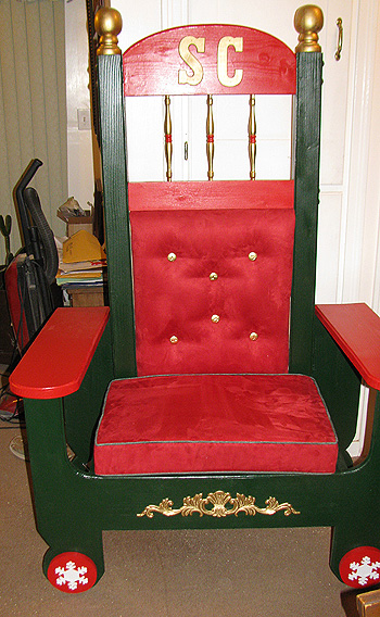 Santa Claus Chair Rental Special Santa Visits
