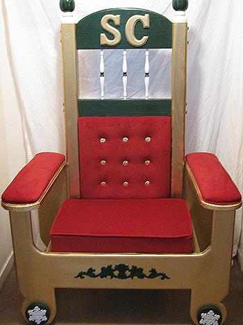 gold-folding-santa-claus-chair